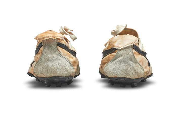 Nike Waffle Racer Moon Shoe Heel