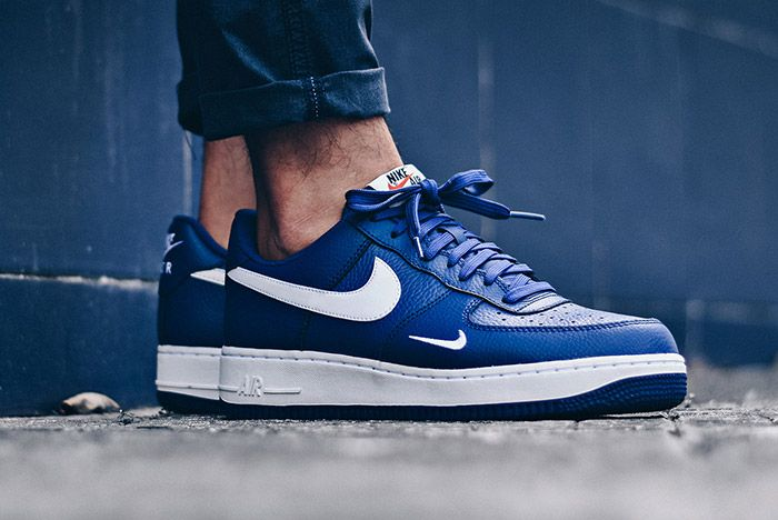 Nike Air Force 1 Mini Swoosh Deep Royal Blue 5