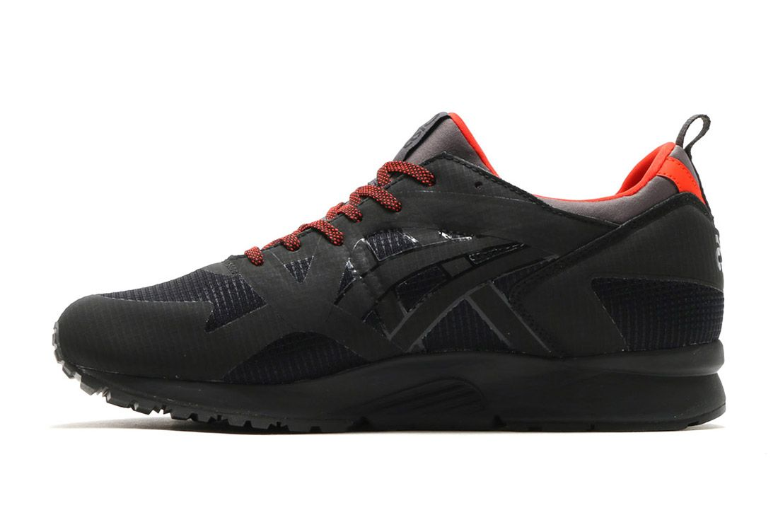 Asics Gel Lyte V Gore Tex Black Red 4
