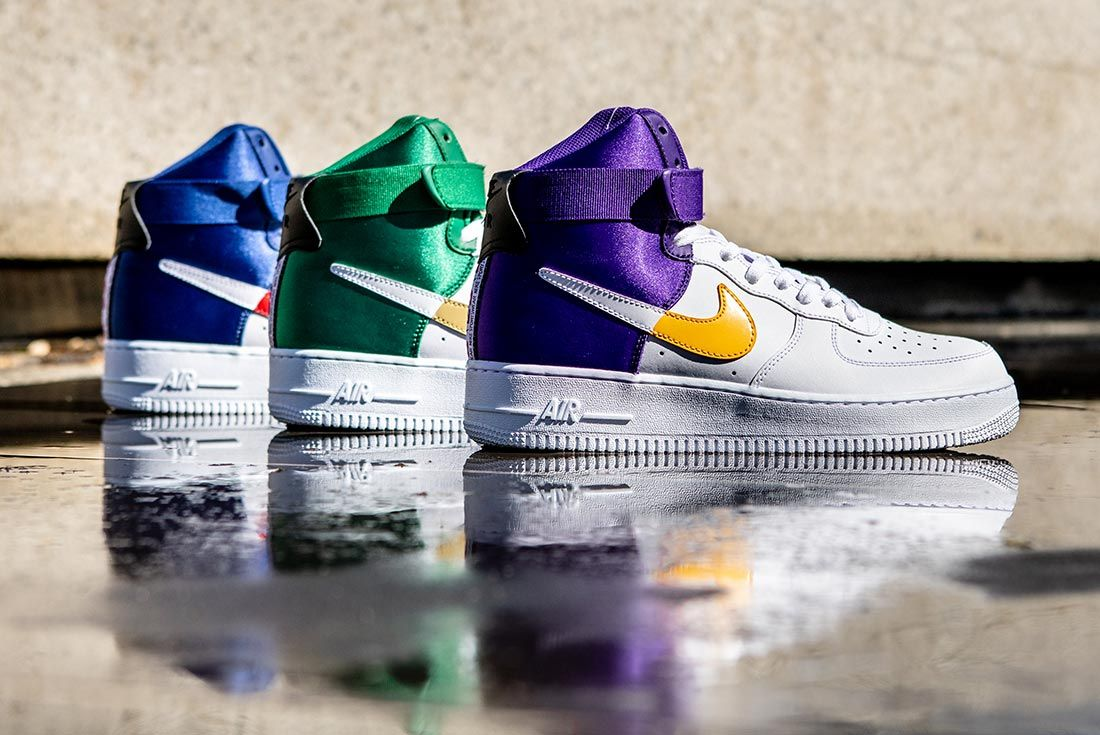 Nike Nba Air Force 1 High Group Shot