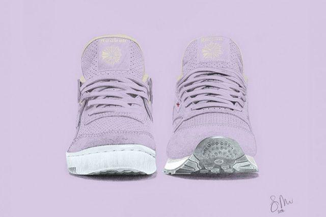 Size Reebok Pastels Purple Oasis Pack 1