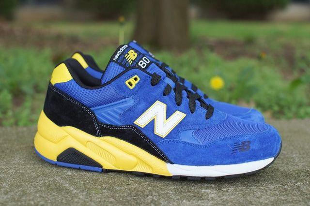 New Balance 580 Blue Yellow 5