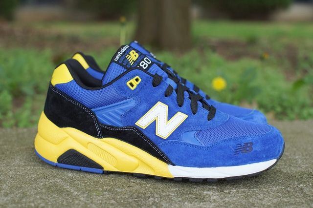 New Balance 580 Blue Yellow 5