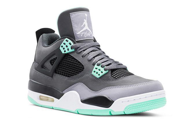 Air Jordan 4 Green Glow 6