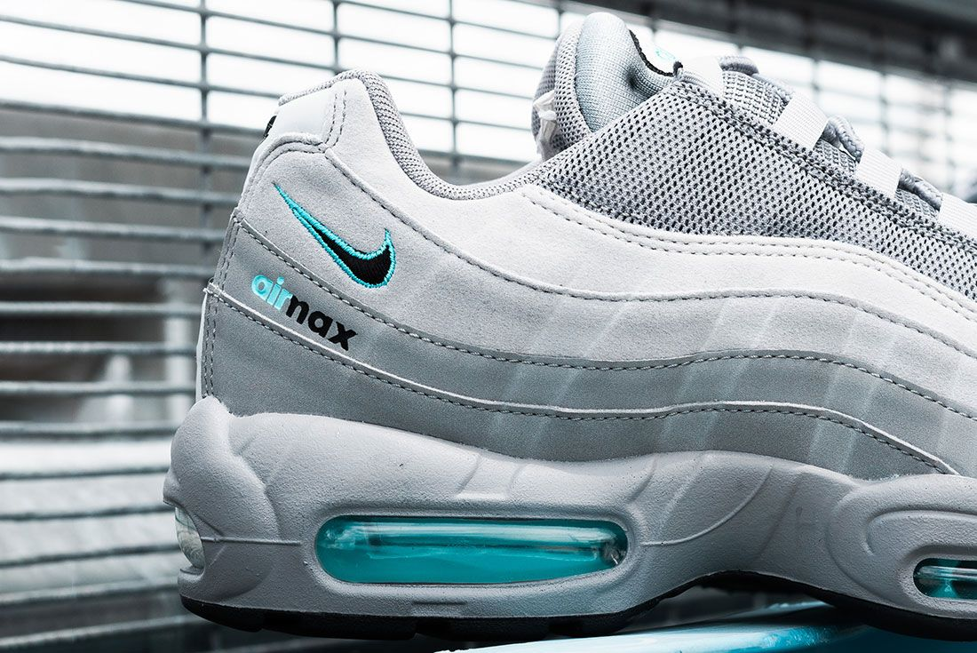 Jd Sports Exclusive Nike Air Max 95 Grey Lateral Detail