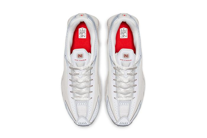 Neymar Nike Shox R4 Collaboration Official White Release Date Top Down