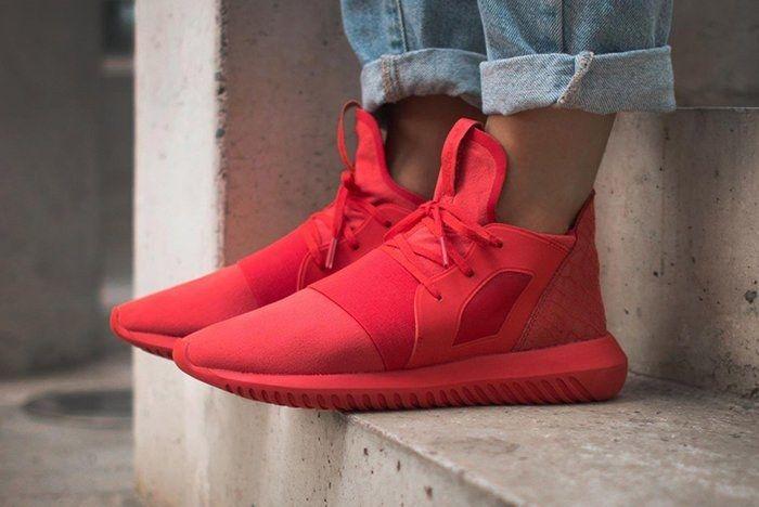 Adidas Tubular Defiant Lush Red3