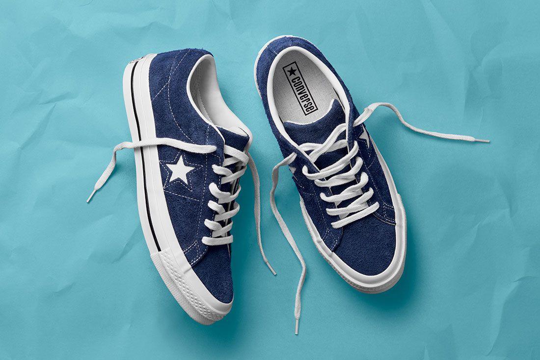 Sp18 Os Og Suede Navy 158371 C 3 77087 77143 Converse One Star Sneaker Freaker