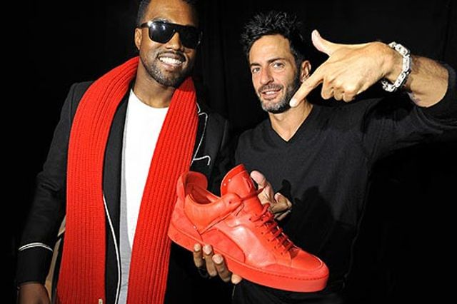 Kanye West Sneaker Style Louis Vuitton Red