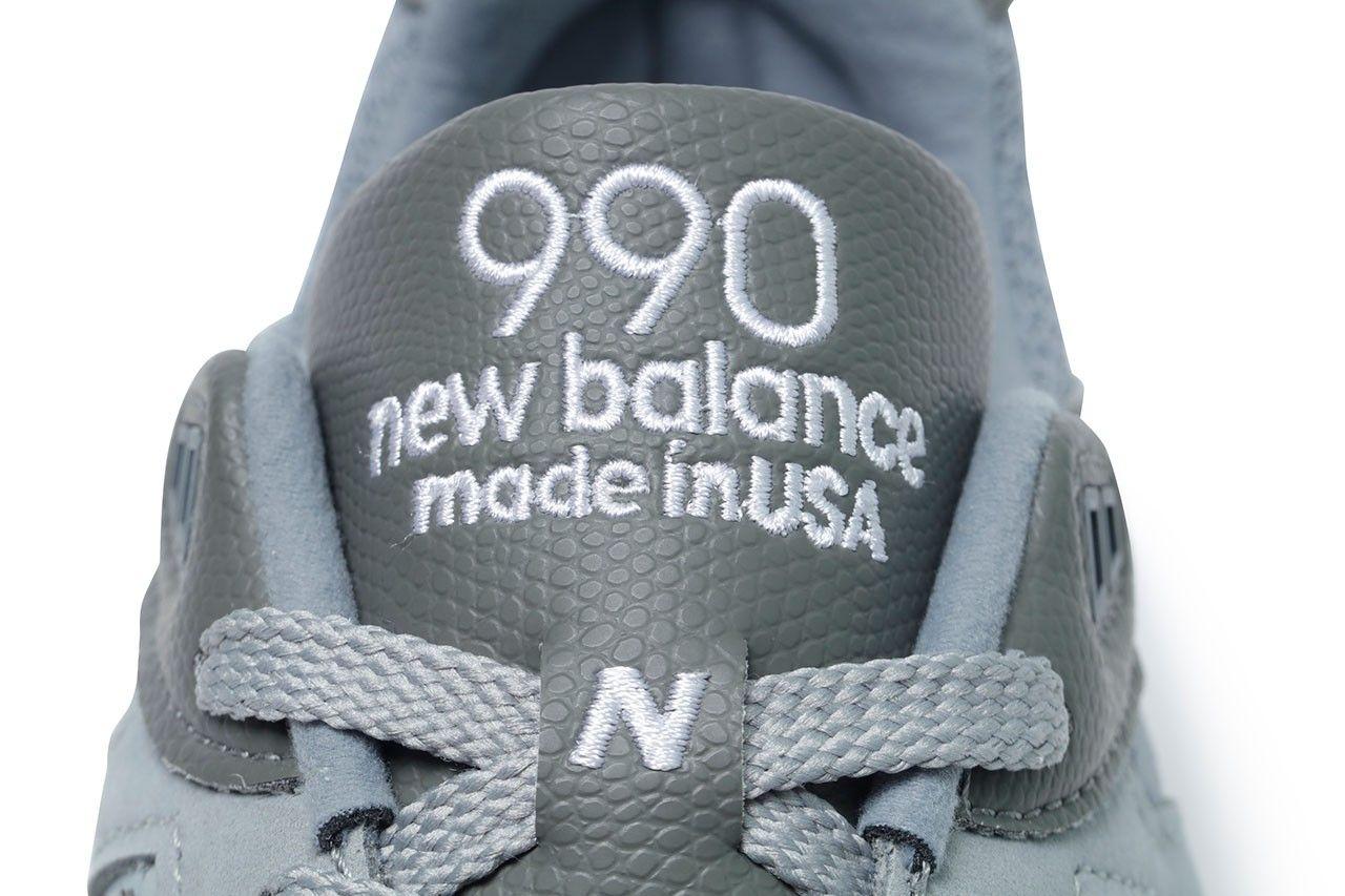 WTAPS x New Balance 990v2 official