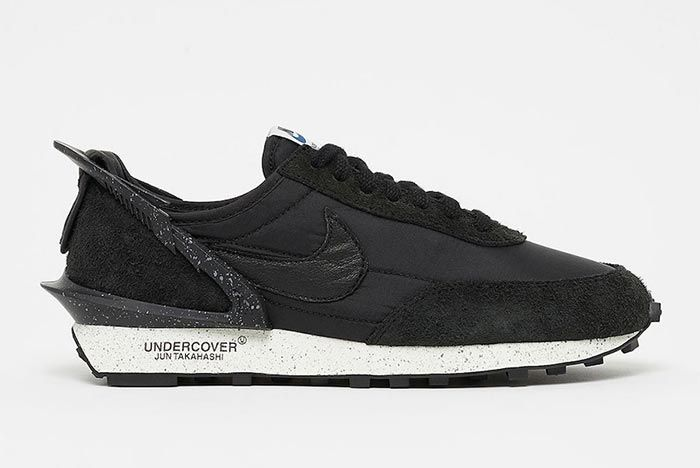 Undercover Nike Daybreak Black Sail Cj3295 001 Lateral Side Shot