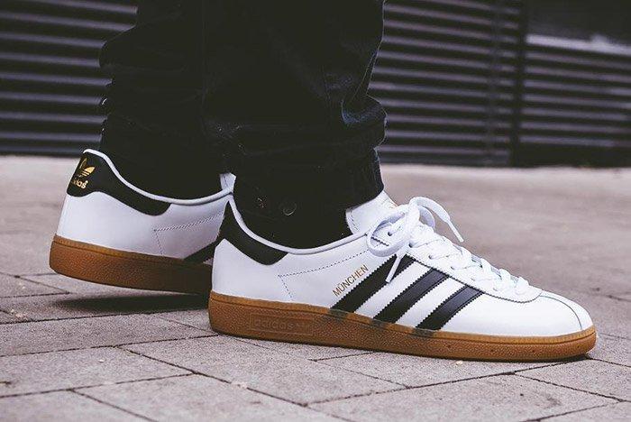 Adidas Munchen White Black Gum 4