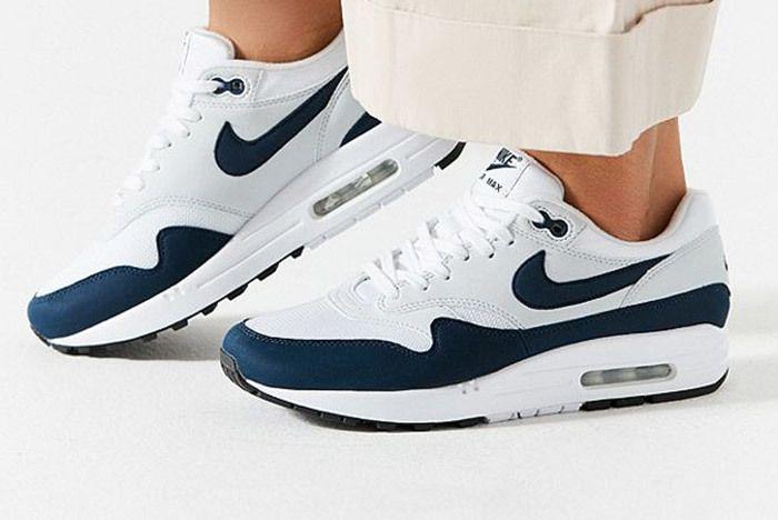 Nike Air Max 1 White Blue 4