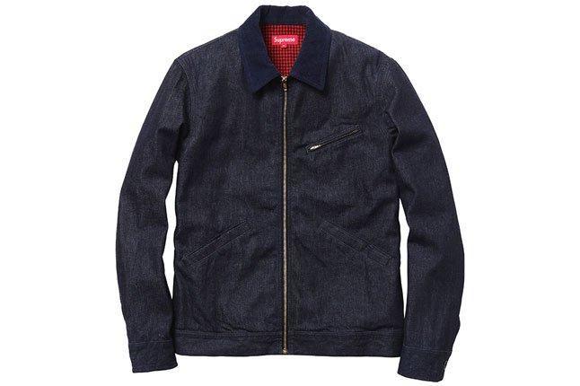 Supreme Blue Workers Jacket 1