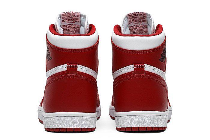 Nike Air Ship Air Jordan 1 New Beginnings Pack Ct6252 900 Heel