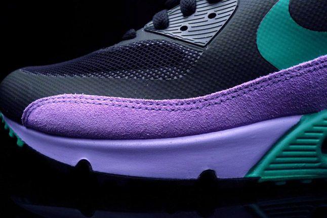 Nike Air Max 90 Premium Black Grape Toe 1