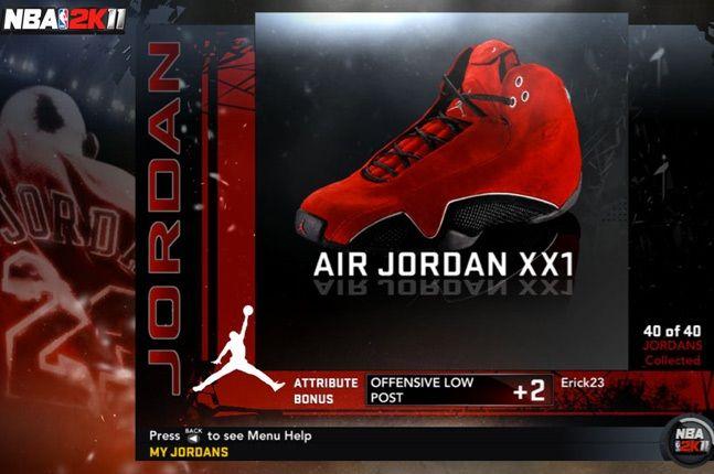 Jordan Nba 2K11 Xx1 1