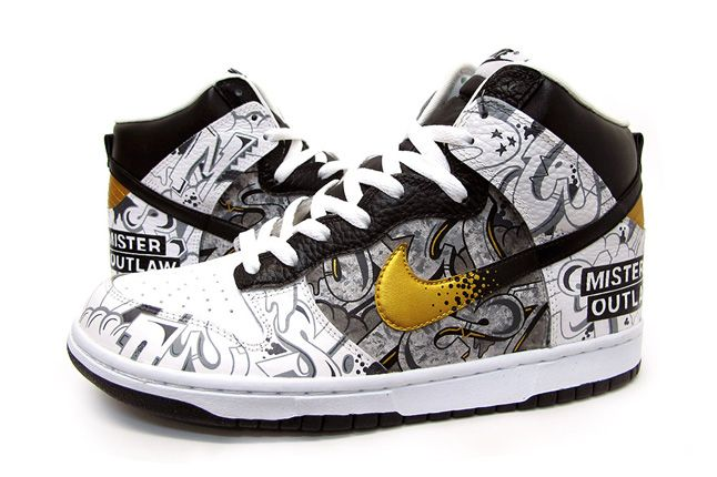 Sekure D Custom Dunk Mr Outlaw Profile 1