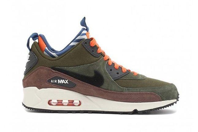 Nike Air Max 90 Prm Sneakerboot Legion Green 3