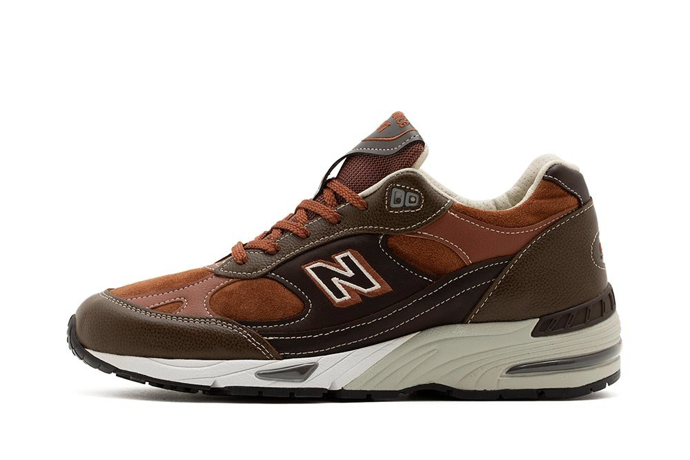 New Balance 991 Brown M991BTG
