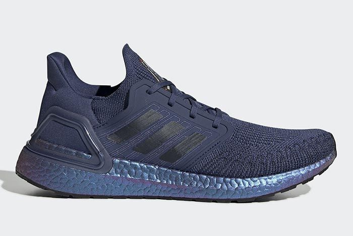Adidas International Space Station Ultraboost Blue Right Side Shot