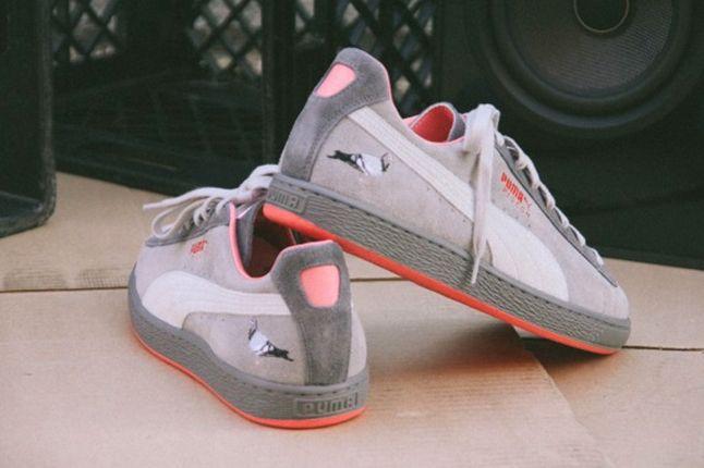 Puma Suede Pigeon Heels 1