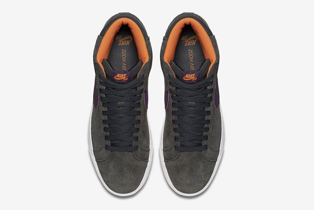Nike Sb Zoom Blazer Premium Anthracite Purple Dynasty1
