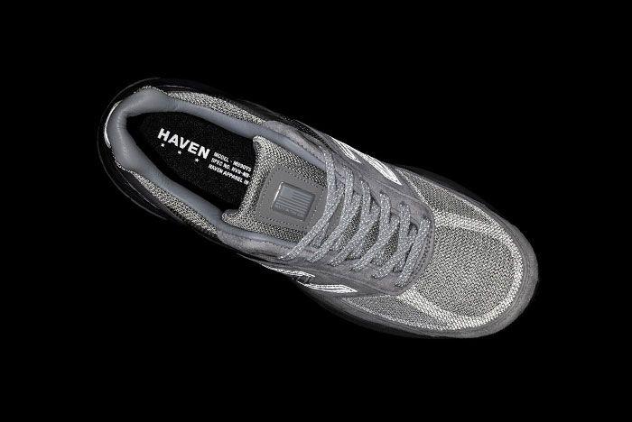 Haven New Balance 990V5 Grey Teaser
