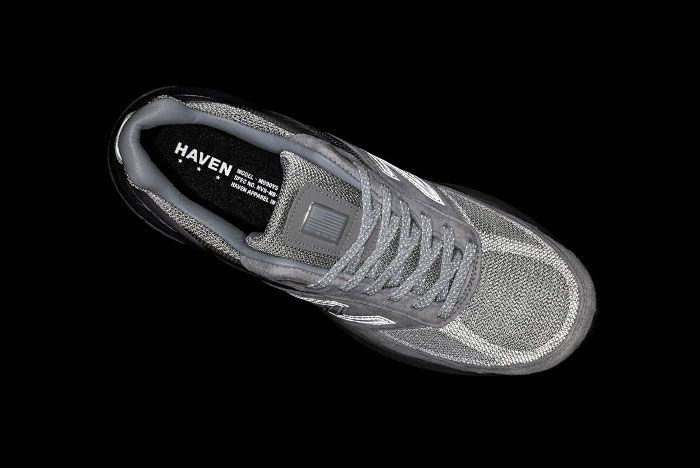 Haven New Balance 990V5 Grey Teaser