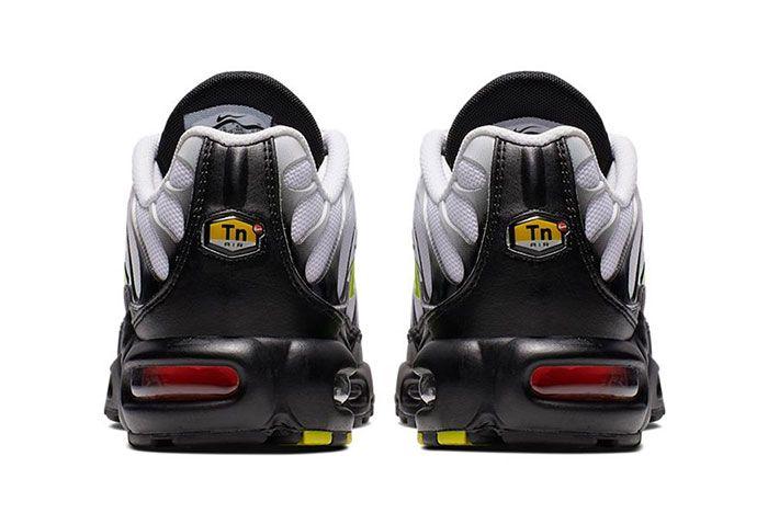 Air Max Tn Plus Grey Volt Heel
