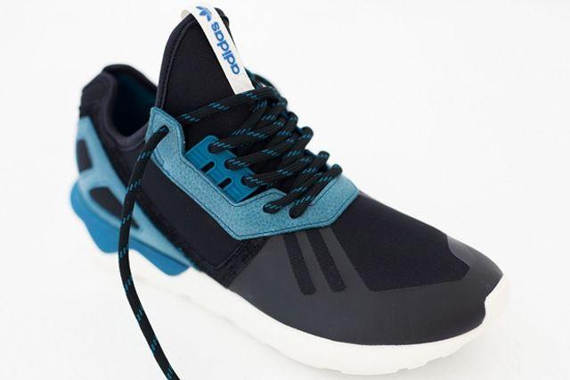 Adidas Tubular Two Tone Turquoise Black 03