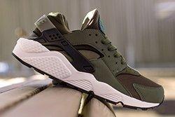 Nike Air Huarache Iron Green Thumb