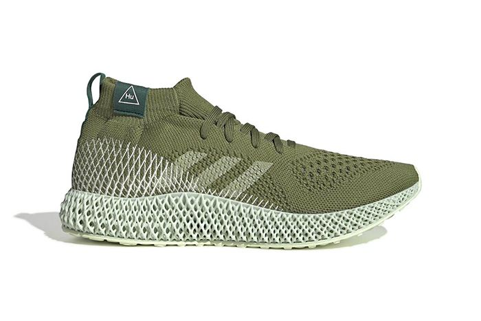 Pharrell Adidas 4D Green Purple Leak First Look Release Date Lateral
