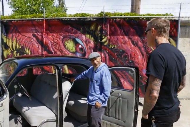 Steve Caballero Meets James Hetfield For Vans 1