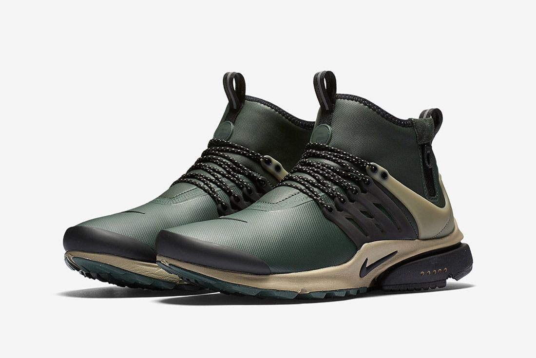 Nike Air Presto Utility Mid Grove Green 6