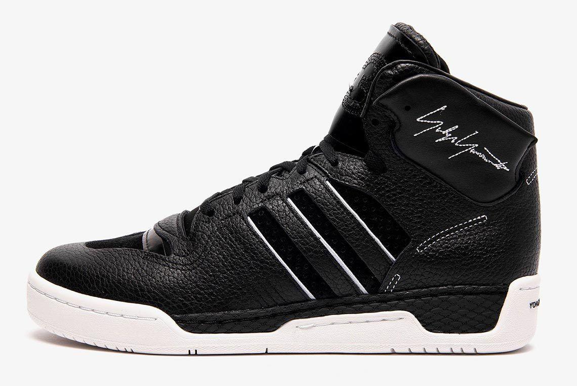 Adidas Y3 Hayworth Black Side Shot 1