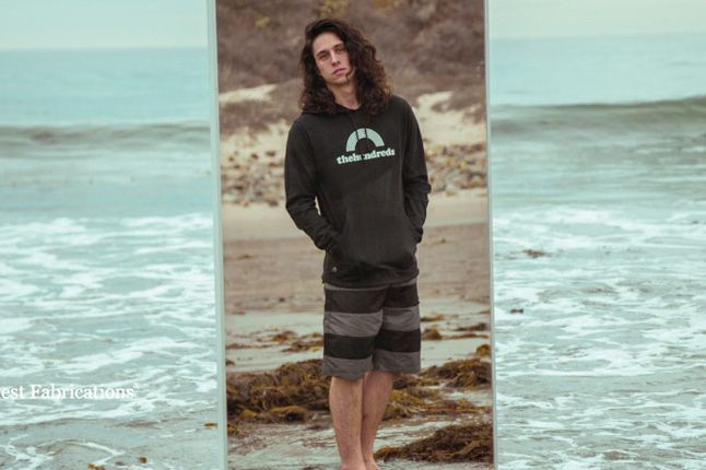 The Hundreds Spring 2013 Lookbook Bull Boardshorts 1