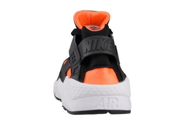 Nike Air Huarache Total Orange Black 2
