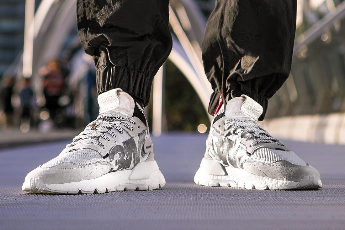 Nite Jogger Mens Colourways Grey Three White