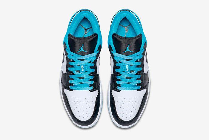 Air Jordan 1 Low Laser Blue Top