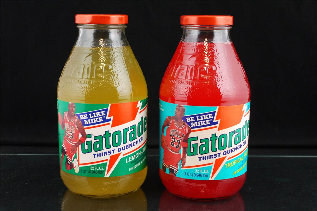 Michael Jordan Gatorade Drink Be Like Mike 1992 Bottle Vintage Sneaker Freaker 7