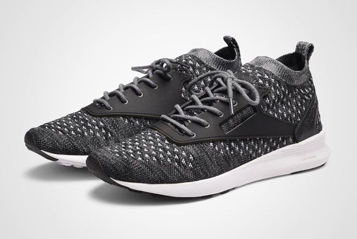 Reebok Zoku Runner Ultraknit Black Grey Thumb