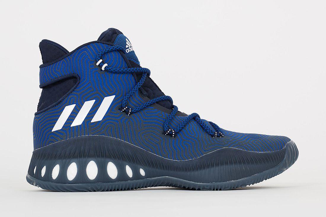 Adidas Crazy Explosive Boost Blue White2