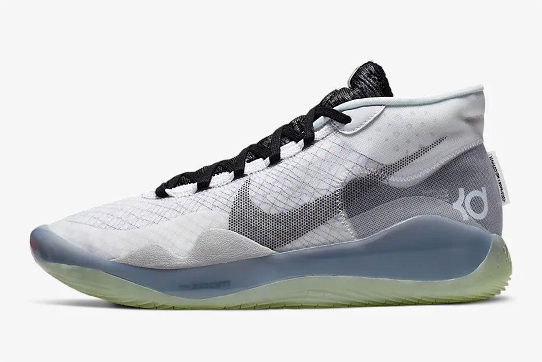 Nike Kd 12 Gear Up Black White Side