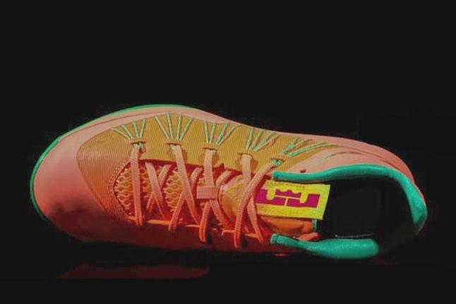 Nike Lebron X Low Watermelon Aerial 1