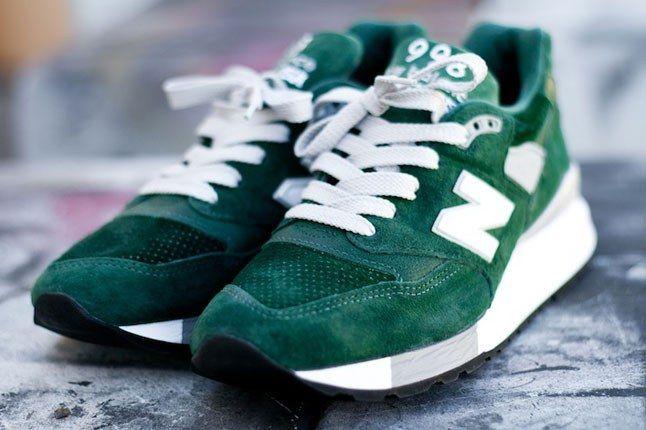 New Balance 998 Hunter Green 2