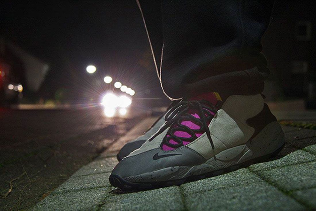 Sneaker Freaker Q WDYWT Nike Air Footscape On Foot