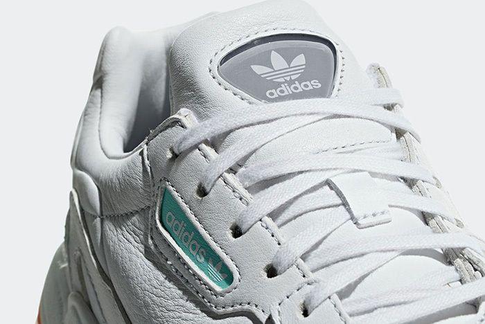 Adidas Falcon White Leather 4