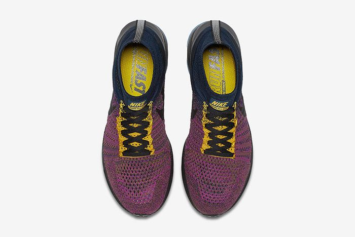 Nike Zoom All Out Flyknit Navy Purple 3