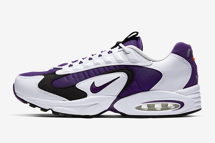 Nike Triax 2 White Purple Left